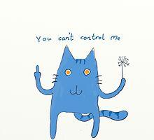 Evil Cat by gregor92