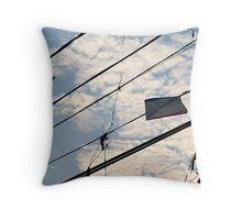 Broken Kites Throw Pillow