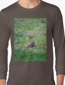 Backyard Meeting Long Sleeve T-Shirt