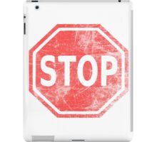 Stop Sign iPad Case/Skin