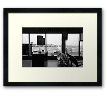 AMS - Amsterdam Airport Schiphol Framed Print