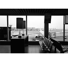 AMS - Amsterdam Airport Schiphol Photographic Print
