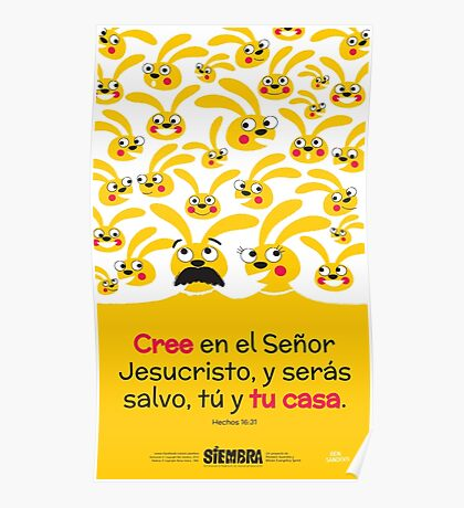Hechos 16:31 Poster