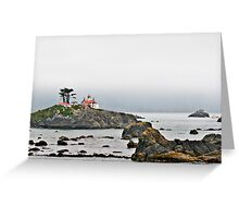 Battery Point Lighthouse, CA Greeting Card