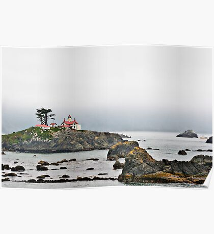 Battery Point Lighthouse, CA Poster