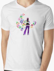 Live Life in Full Colour Mens V-Neck T-Shirt