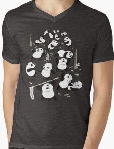 PANDAMONIUM Mens V-Neck T-Shirt