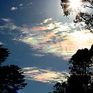 Iridescent clouds again by Australis