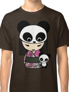 Kokeshi Doll with Panda Classic T-Shirt