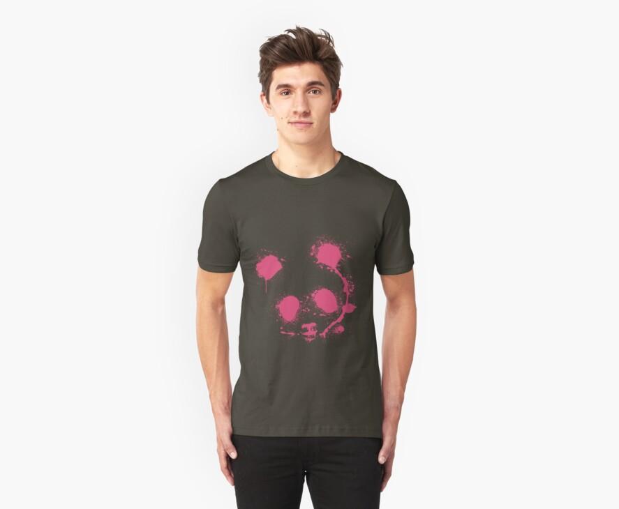 Pink panda by akwel