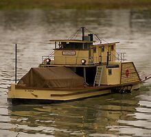 Paddle Steamer 'Ulonga' by James Vereker