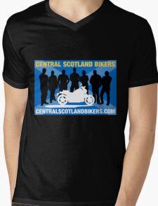 Central Scotland Bikers Mens V-Neck T-Shirt