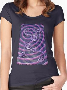 Violet Wake Women's Fitted Scoop T-Shirt