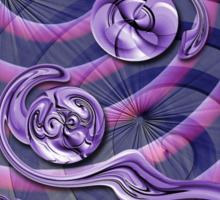 Violet Wake Sticker
