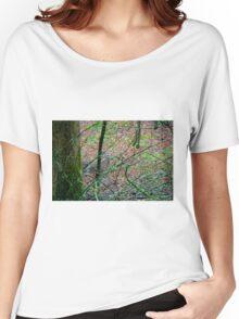 Sneak a Peak Women's Relaxed Fit T-Shirt