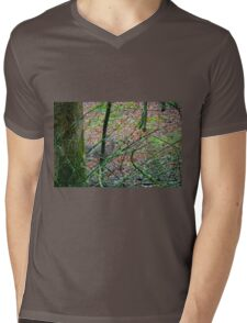 Sneak a Peak Mens V-Neck T-Shirt