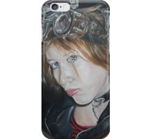 Steampunk Self Portrait iPhone Case/Skin