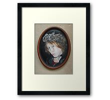 Steampunk Self Portrait Framed Print