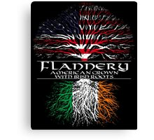 Flannery - American Grown with Irish Roots Canvas Print