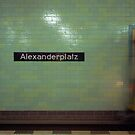 U-Bahnhof Alexanderplatz by Richard McKenzie