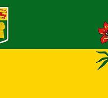 Flag of Saskatchewan by abbeyz71