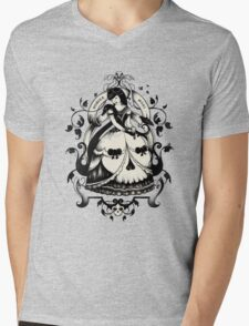 Mrs. Death Mens V-Neck T-Shirt