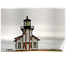 Point Cabrillo Lighthouse, CA Poster