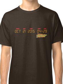 October 21, 2015 in DeLorean Numbers  Classic T-Shirt