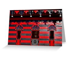 Ponce Firehouse Greeting Card