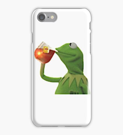 none of my business iPhone Case/Skin