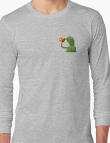 none of my business Long Sleeve T-Shirt