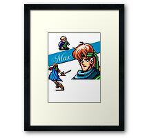 Shining Force - Max Framed Print