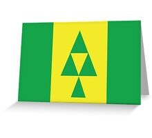 Flag of Prince Albert  Greeting Card