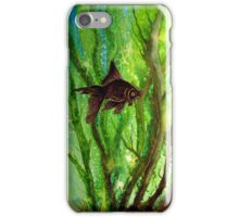 Fish - Amongst the Reeds  iPhone Case/Skin