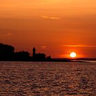 Sunset over Denmark by imagic