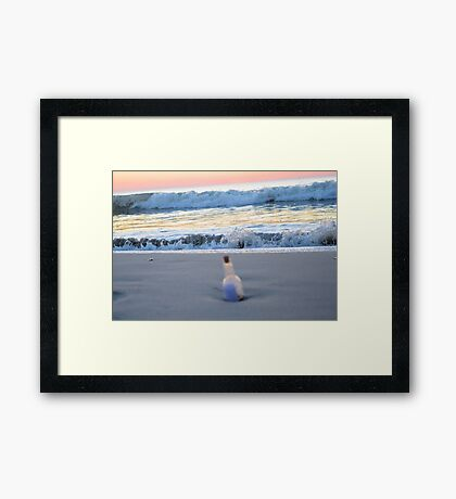 From The Sea Comes Love Framed Print