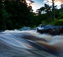 Maine sunset river by Eric Maki