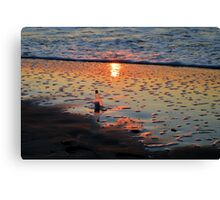 Morning Message Canvas Print