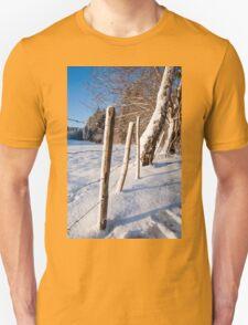 Rural winter scene T-Shirt