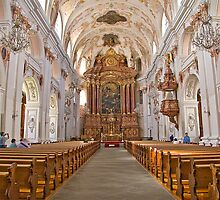 Jesuit Church in Lucerne by Albert Crawford