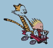 Calvin and Hobbes Go Kart Kids Clothes