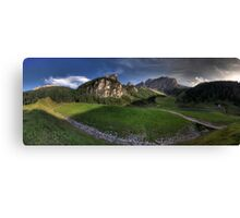 Panoramic Mountains Canvas Print