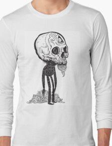 THE MAN IN BLACK Long Sleeve T-Shirt