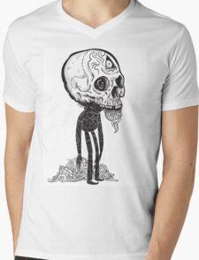 THE MAN IN BLACK Mens V-Neck T-Shirt