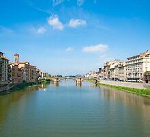 River Arno by Jaime Pharr