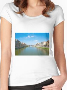 River Arno Women's Fitted Scoop T-Shirt