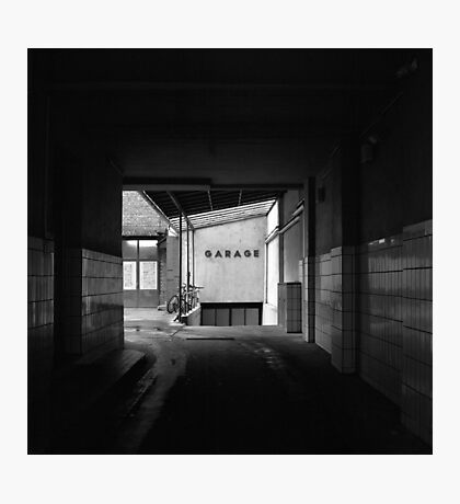 Garage, Frankfurt Photographic Print