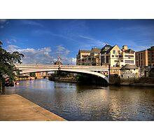 Bridge over River Ouse II Photographic Print