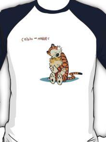 Calvin and Hobbes Warm Hug T-Shirt