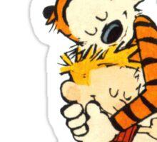 Calvin and Hobbes Warm Hug Sticker